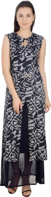 Pinch Style Women Maxi Multicolor Dress