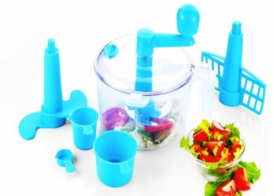 Vivir Advance Dough Maker, Vegetable Chopper ( 2 in1 - Chop and Churn) - Blue 250 W Food Processor(Blue) at flipkart