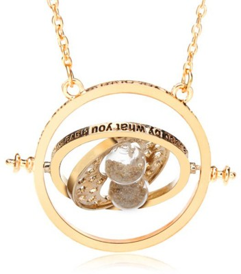 Deal Sutras Gold plated time turner pendant Alloy Pendant
