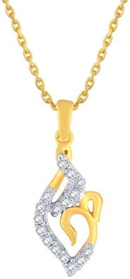 Asmi Designer 18kt Diamond Yellow Gold Pendant