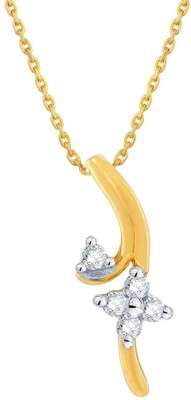 Asmi Designer 18kt Diamond Yellow Gold Pendant
