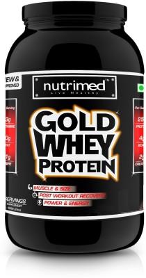 Nutrimed Gold Whey 2Lbs Whey Protein(908 g, Banana)