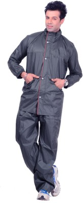 Autosky Solid Men Raincoat