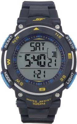 SF NH77011PP03J Sonata Fibre Digital Watch   For Men SF Wrist Watches