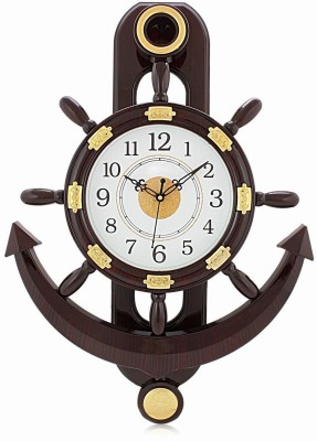AIREL Analog Wall Clock(WODDEN, With Glass)