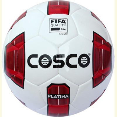 Cosco Platina Football - Size: 5(Pack of 1, Multicolor)