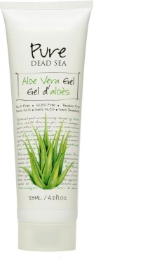 Pure Dead Sea Aloe Vera Gel with Dead Sea Minerals & Vitamin E for Soft & Nourish Skin(125 ml)