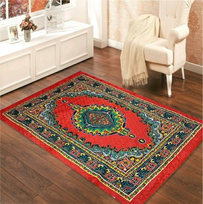 Hindustan 5 star Multicolor Jute Carpet(147 cm  X 215 cm)
