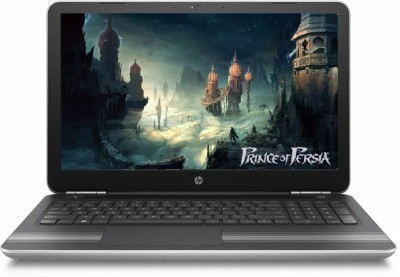 HP Core i7 7th Gen - (8 GB/1 TB HDD/Windows 10 Home/4 GB Graphics) 15-AU628TX Notebook(15.6 inch, Natural SIlver, 2.03 kg)