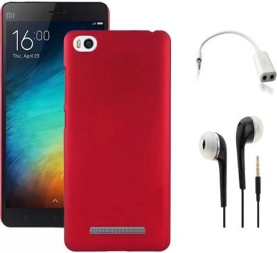 Tidel Cover Accessory Combo for Xiaomi Mi Redmi 4A Red