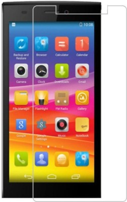 Angel Tempered Glass Guard for Tempered Glass For Micromax Canvas Mega 4G Q417