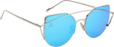 Aislin Cat-eye Sunglasses(Green) at flipkart