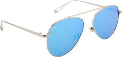 Aislin Aviator Sunglasses(Green) at flipkart