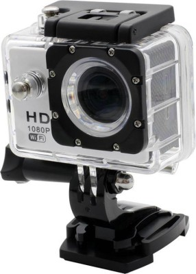 Doodads Action pro Helmet Sports Action Camera Sports and Action Camera(Black 12 MP) at flipkart