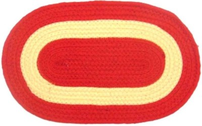 M G'S Real Decor Cotton Door Mat COTTON(Multicolor, Free)  available at flipkart for Rs.144
