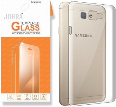 Johra Screen Protector Accessory Combo for Samsung Galaxy C7 Pro(Transparent)