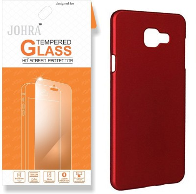 Johra Screen Protector Accessory Combo for Samsung Galaxy C7 Pro(Transparent, Red)