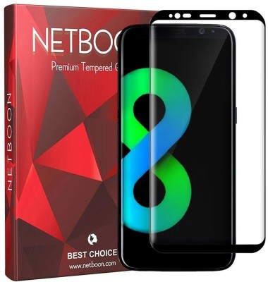 Netboon Tempered Glass Guard for Samsung Galaxy S8