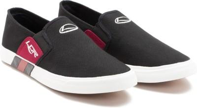 Lancer Canvas Shoes For Men(Black, Red