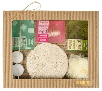 BodyHerbals Natural Hand Made Soap Set(Set of 6)
