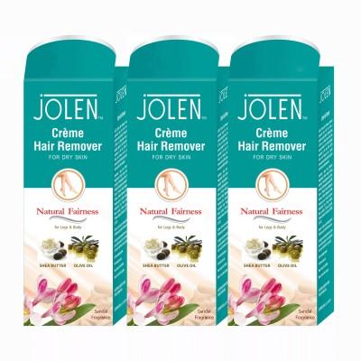 Jolen Hair Remover Sandal (Pack of 3) Cream(150 ml) Flipkart