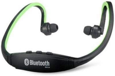 Techwich Green Sporty Bluetooth Headset with Mic(Black, In the Ear) 1