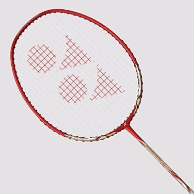 Yonex Nanoray 7 AH Silver, Red Strung Badminton Racquet