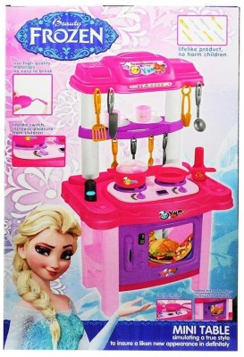 Amayra Toy Battery Operated Big Size Modern Complete Kitchen Set Buy At The Price Of 47 29 In Flipkart Com Imall Com