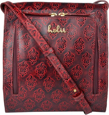 Holii COLORADO 02-Red-Mid-Blue Red, Blue Sling Bag at flipkart