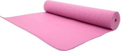 Klixx PVC Comfort-ZX--058 Pink 5 mm Yoga Mat