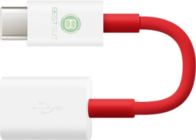 BESTSUIT High Speed Otg USB Adapter(Red)
