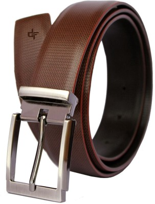 DFashion Men Brown Artificial Leather Belt