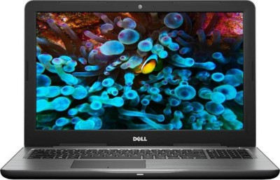 Dell Inspiron 5000 Core i5 7th Gen - (8 GB/2 TB HDD/Windows 10 Home/4 GB Graphics) 5567 Laptop(15.6 inch, Black, With MS Office)