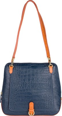 Holii VANCOUVER 03-CEMENT MIDNIGHT BLUE-JASMINE LOBSTER Blue Shoulder Bag at flipkart