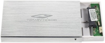 Terabyte USB 3.0 Hard Drive Casing / Enclosure 2.5 inch Internal Hard Drive Enclosure(For 2.5 Inch Sata Hard Drive, Silver)