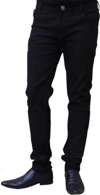Club Vintage Slim Men Black Jeans