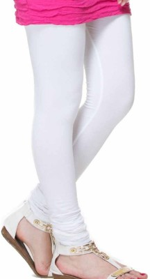 Riya Look Churidar  Legging(White, Solid)  available at flipkart for Rs.335