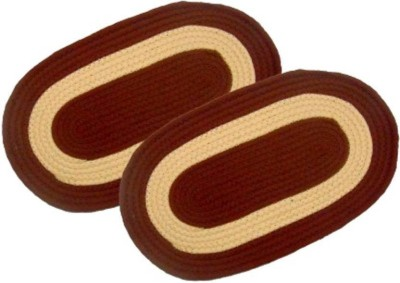 M G'S Real Decor Cotton Door Mat COTTON(Multicolor, Free)  available at flipkart for Rs.213