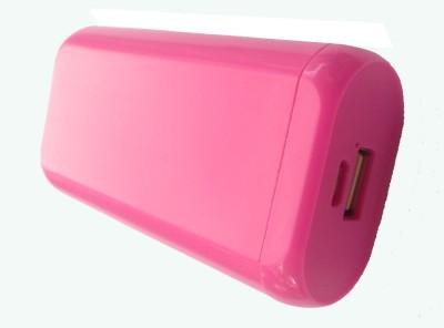 Ortel 5200 mAh Power Bank  ortu28, USB Portable Power Supply  Pink, Lithium Polymer