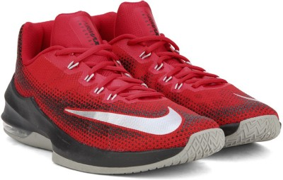 Nike AIR MAX INFURIATE LOW Basketball Shoes For Men(Multicolor) 1