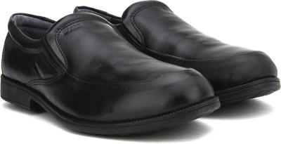 2f66d8aab8 46% OFF on Woods Genuine Leather by Woodland Slip On Shoes For Men(Black) on  Flipkart | PaisaWapas.com