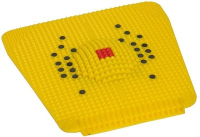 VibeX ® Acupressure - 2000 New Computerized Design With Energy Center Yellow 3 mm Yoga Mat