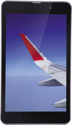 iBall Slide Wings 4GP 16 GB 8 inch with Wi-Fi+4G Tablet (Silver Chrome)