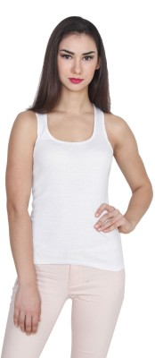TeeMoods Casual Sleeveless Solid Women