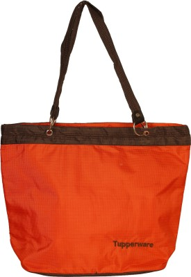 Tupperware hand bag Waterproof Multipurpose Bag(Orange, 10 L)
