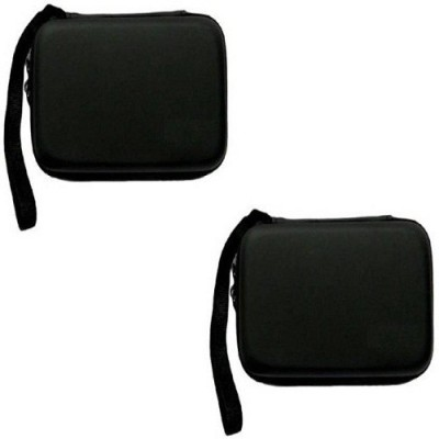 VU4 Hard Drive Case Set Of 2 2.5 inch Internal Hard Drive Pouch(For Hard Disk, Black)