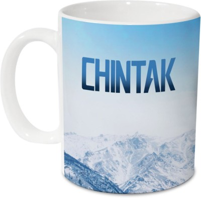 Hot Muggs Me Skies - chintak Ceramic 350 ml, 1 Unit Ceramic Mug(350 ml)  available at flipkart for Rs.249