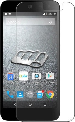 Golddust Tempered Glass Guard for Micromax Canvas Juice A177(Pack of 1)