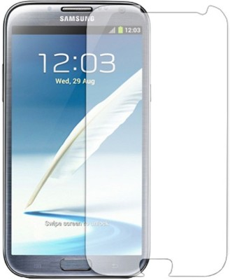 Golddust Tempered Glass Guard for Samsung Galaxy Note II Pack of 1 Golddust Screen Guards