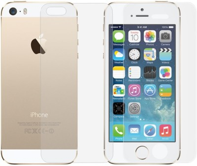 Golddust Tempered Glass Guard for Apple iPhone 5G Front & Back(Pack of 1)